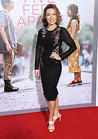 "07 March 2019 - Westwood, California - Cynthia Evans. ""Five Feet Apart"" Los Angeles Premiere held at the Fox Bruin Theatre. Photo Credit: Birdie Thompson/AdMedia"