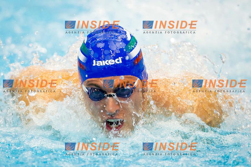 Szczecin, Poland, 9 december 2011.European Short Course Swimming Champioships 2011.400m Medley Men.Luca Angelo Dioli (ITA)...Photo: Insidefoto / Guido Cantini