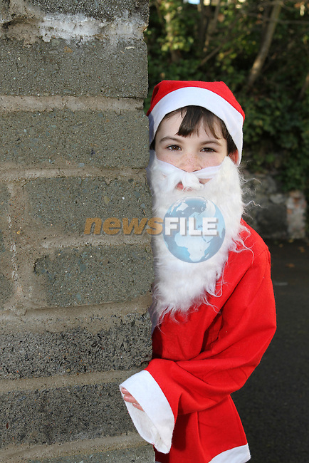 Pierce Boyle at the 2012 Christmas Bonanza Santa Run...Photo NEWSFILE/Jenny Matthews..(Photo credit should read Jenny Matthews/NEWSFILE)