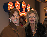 Roberta Ross and Lisa Miolini at the 3rd Street Flats Grand Opening in downtown Reno on Jan. 24, 2017.