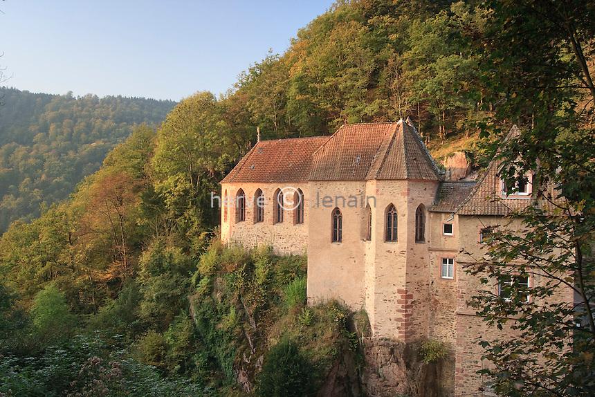 France, Alsace, Haut-Rhin, 68, Ribeauvillé, Notre-Dame de Dusenbach, la chapelle de la Vierge // France, Alsace, Haut-Rhin, Ribeauvillé, Notre-Dame de Dusenbach, chapel de la Vierge (Chapel of the Virgin)