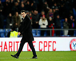 Watford's Marco Silva looks on during the premier league match at Selhurst Park Stadium, London. Picture date 12th December 2017. Picture credit should read: David Klein/Sportimage