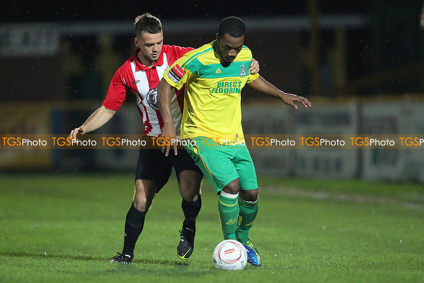 Danny Johnson in action for Hornchurch - Thurrock vs AFC Hornchurch - Robert Dyas League Cup 2nd Round Football at Ship Lane, Thurrock FC - 11/11/14 - MANDATORY CREDIT: Gavin Ellis/TGSPHOTO - Self billing applies where appropriate - contact@tgsphoto.co.uk - NO UNPAID USE