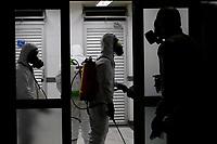 18/06/2020 - EXÉRCITO REALIZA HIGIENIZAÇÃO NA PREFEITURA DE CAMPINAS