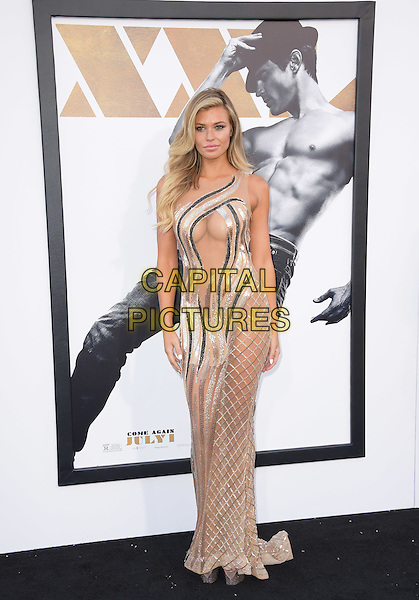 Samantha Hoopes attends The Warner Bros. Pictures' L.A. Premiere of Magic Mike XXL held at The TCL Chinese Theatre  in Hollywood, California on June 25,2015  <br /> CAP/DVS<br /> &copy;DVS/Capital Pictures