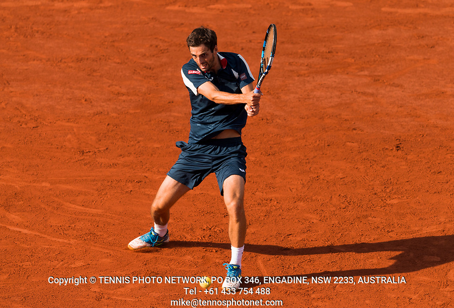 ALBERT RAMOS-VINOLAS (ESP)<br /> <br /> TENNIS - FRENCH OPEN - ROLAND GARROS - ATP - WTA - ITF - GRAND SLAM - CHAMPIONSHIPS - PARIS - FRANCE - 2017  <br /> <br /> <br /> <br /> &copy; TENNIS PHOTO NETWORK