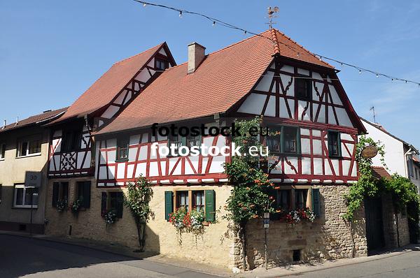 Hofanlage, barockes Fachwerkhaus (17./18. Jh.)