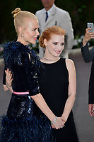 Nicole Kidman &amp; Jessica Chastin at the 24th amfAR Gala Cannes at the Hotel du Cap-Eden-Roc, Antibes, France. 25 May 2017<br /> Picture: Paul Smith/Featureflash/SilverHub 0208 004 5359 sales@silverhubmedia.com