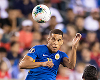 PHILADELPHIA, PA - JUNE 30: Jurien Gaari #13 during a game between Curaçao and USMNT at Lincoln Financial Field on June 30, 2019 in Philadelphia, Pennsylvania.