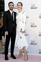 www.acepixs.com<br /> September 28, 2017  New York City<br /> <br /> Rebecca Hall, Morgan Spector attending the New York City Ballet 2017 Fall Fashion Gala at Lincoln Center on September 28, 2017 in New York City.<br /> <br /> Credit: Kristin Callahan/ACE Pictures<br /> <br /> <br /> Tel: 646 769 0430<br /> Email: info@acepixs.com