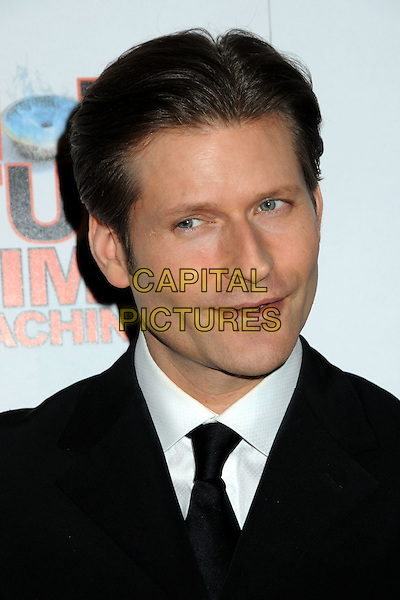 "CRISPIN GLOVER .""Hot Time Time Machine"" World Premiere Party held at the Cabana Club, Hollywood, California, USA..March 17th, 2010.headshot portrait black white .CAP/ADM/BP.©Byron Purvis/AdMedia/Capital Pictures."