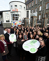 1-12-2017: Ailish O&rsquo;Neill, National Youth Health Programme Manager pictured presenting Rena Powell,  Health Promotion Officer with the Kerry Diocesian Youth Service with a Gold Standard Health Quality Mark (HQM) from the National Youth Council of Ireland (NYCI) in Killarney on Friday. Kerry Diocesian Youth Service (KDYS) was awarded HQM Mark in recognition of their work on health promotion for young people in the Kerry area, at a special event held in KDYS Youth Centre in Killarney on Friday December 1st. Also in photo are Tim O'Donoghue and <br /> Photo: Don MacMonagle<br /> &ldquo;This award is a testament to the hard work and dedication of all at KDYS. They are committed to the highest quality standards in health promotion and it is clear that ensuring a healthy and safe place for young people and staff is a key priority here.&rdquo; said Ailish O&rsquo;Neill, National Youth Health Programme Manager at the NYCI.<br /> &ldquo;Congratulations are in order to the staff and volunteers of the service, in particular Rena Powell, KDYS Health Promotion Officer, who guided the organisation through the process to ensure that their work is in line with national and international best practice in the area of Youth Health Promotion,&rdquo; continued Ms O&rsquo;Neill.<br /> <br /> The HQM is the recognised quality assurance mark for health promotion in youth work in Ireland. It is a health promotion initiative developed by the National Youth Health Programme to enhance best practice in youth organisations. The National Youth Health Programme is a partnership between NYCI, the Health Service Executive and the Department of Children and Youth Affairs. <br /> ENDS<br /> <br /> Contact: Daniel Meister, Communications Manager at NYCI: 087 781 4903, 01-478 4122 or communications@nyci.ie <br /> <br /> Notes to Editors:<br /> National Youth Council of Ireland<br /> The National Youth Council of Ireland is a membership-led umbrella organisation that represents and supports the in