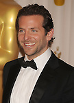 HOLLYWOOD, CA. - March 07: Actor/presenter Bradley Cooper poses in the press room at the 82nd Annual Academy Awards held at the Kodak Theatre on March 7, 2010 in Hollywood, California.