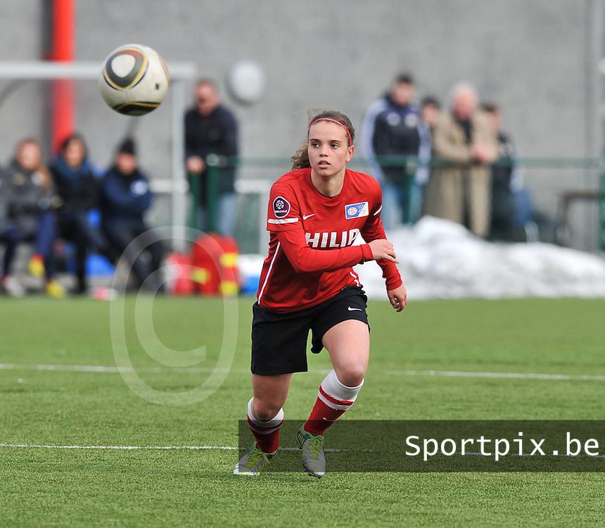 RSC Anderlecht Dames - PSV / FC Eindhoven : Jeslynn Kuijpers.foto David Catry / Vrouwenteam.be