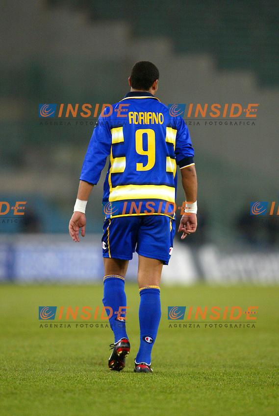 Roma 14/1/2004 - Coppa Italia<br /> Lazio Parma 2-0<br /> Adriano (Parma)<br /> Foto Andrea Staccioli Insidefoto