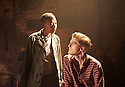 Carmen Disruption by Simon Stephens, directed by Michael Longhurst. With Noma Dumezweni as Don Jose, Jack Farthing as Carmen. Opens at The Almeida Theatre on 17/4/15. CREDIT Geraint Lewis