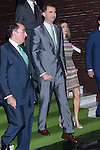 03.07.2012. Princess Letizia of Spain and Prince Felipe of Spain attend Iberdrola Foundation Scholarships 2012 at 'Casa de America' in Madrid. In the image Prince Felipe and Princess Letizia (Alterphotos/Marta Gonzalez)