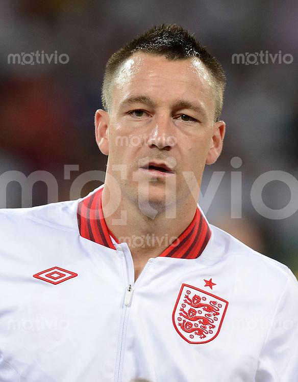 FUSSBALL  EUROPAMEISTERSCHAFT 2012   VIERTELFINALE England - Italien                     24.06.2012 John Terry (England)