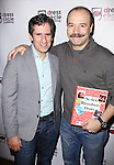 Seth Rudetsky and Danny Burstein attend the Seth Rudetsky Book Launch Party for 'Seth's Broadway Diary' at Don't Tell Mama Cabaret on October 22, 2014 in New York City.