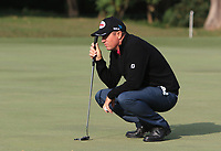 Scott Hend (AUS) on the 13th green during Round 1 of the UBS Hong Kong Open, at Hong Kong golf club, Fanling, Hong Kong. 23/11/2017<br /> Picture: Golffile | Thos Caffrey<br /> <br /> <br /> All photo usage must carry mandatory copyright credit     (&copy; Golffile | Thos Caffrey)