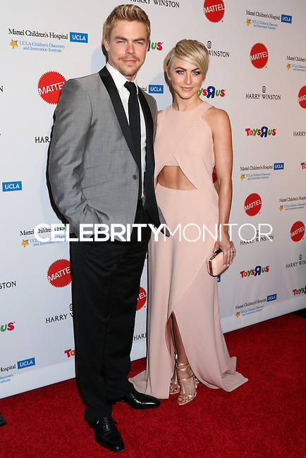 BEVERLY HILLS, CA, USA - APRIL 10: Derek Hough, Julianne Hough at the Kaleidoscope Ball - Designing The Sweet Side Of L.A. held at The Beverly Hills Hotel on April 10, 2014 in Beverly Hills, California, United States. (Photo by Celebrity Monitor)