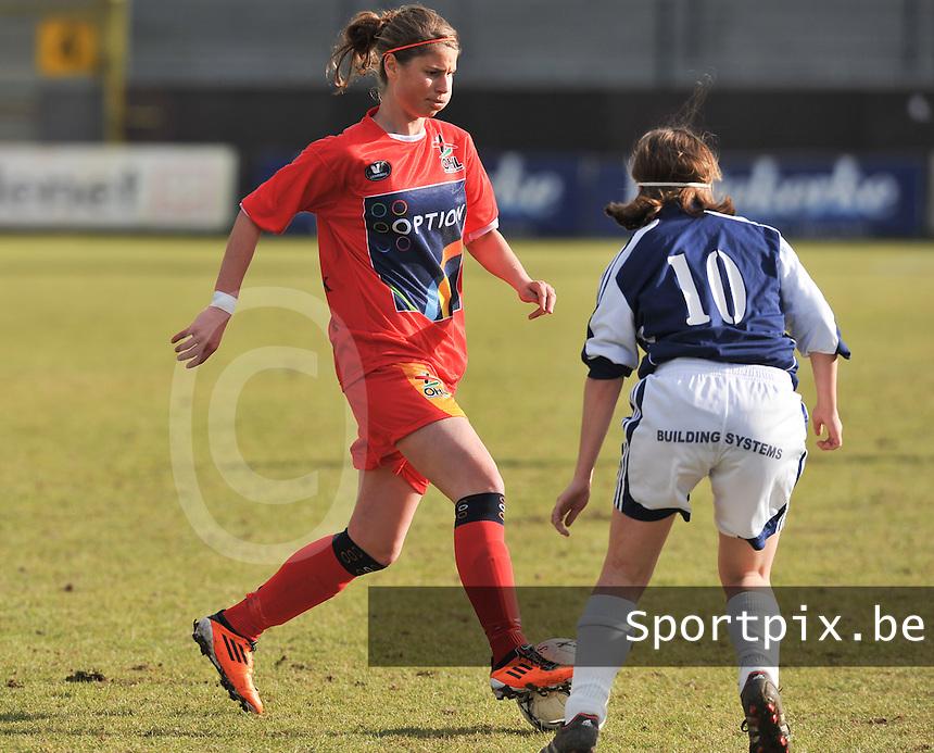 Oud Heverlee Leuven OHL : Ellen Charlier.Foto David Catry / vrouwenteam.be / loft6.be