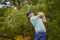 Chase Wright (USA) watches his tee shot on 2 during day 1 of the Valero Texas Open, at the TPC San Antonio Oaks Course, San Antonio, Texas, USA. 4/4/2019.<br /> Picture: Golffile | Ken Murray<br /> <br /> <br /> All photo usage must carry mandatory copyright credit (© Golffile | Ken Murray)