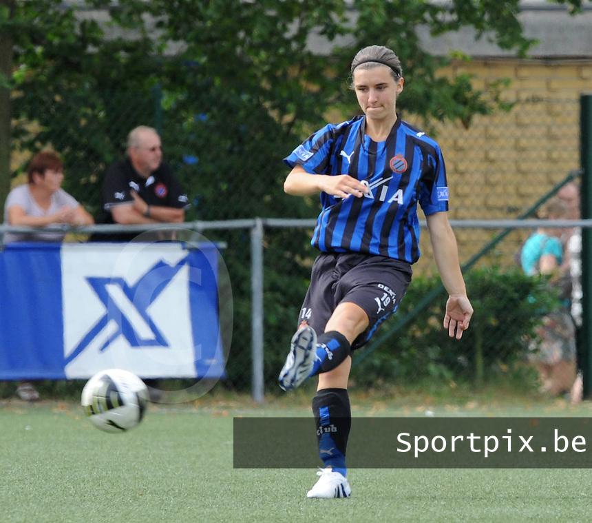Dames Club Brugge : Barbara Lezy.foto VDB / BART VANDENBROUCKE