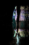 ENCINITAS, CA- APRIL 22 :  Model poses in Xterra Wetsuit on location in Encinitas, CA  (Photo by Donald Miralle)