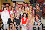 PARTY: Joan Pototzki, Fairway Heights (seated centre) got a great surprise last Saturday night when she arrived at Kirbys Brogue Inn, Tralee, to a surprise 50th birthday bash arranged by her family..
