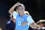 30 August 2013: North Carolina's Kelly McFarlane. The University of North Carolina Tar Heels hosted the University of New Mexico Lobos at Fetzer Field in Chapel Hill, NC in a 2013 NCAA Division I Women's Soccer match. UNC won the game 2-1.
