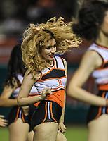 Porristas Hit Girls , durante la apertura de la temporada de beisbol de la Liga Mexicana del Pacifico 2017 2018 con el partido entre Naranjeros vs Yaquis. 11 octubre2017 . <br /> (Foto: Luis Gutierrez /NortePhoto.com)