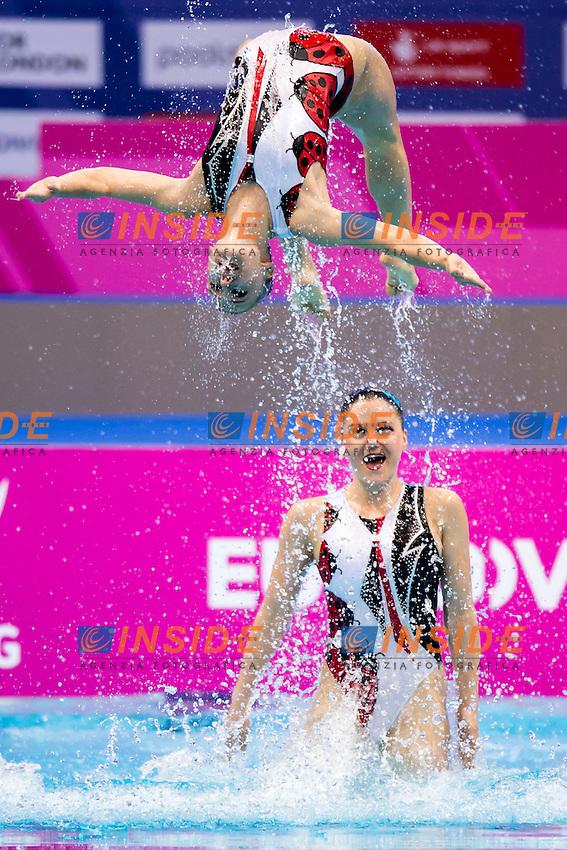 Team ISR Israel<br /> London, Queen Elizabeth II Olympic Park Pool <br /> LEN 2016 European Aquatics Elite Championships <br /> Team Technical final<br /> Day 01 09-05-2016<br /> Photo Giorgio Scala/Deepbluemedia/Insidefoto
