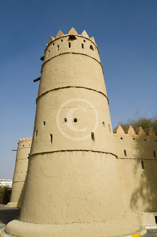 United Arab Emirates, Abu Dhabi, Al Ain, Al Jahili Fort, built in 1898