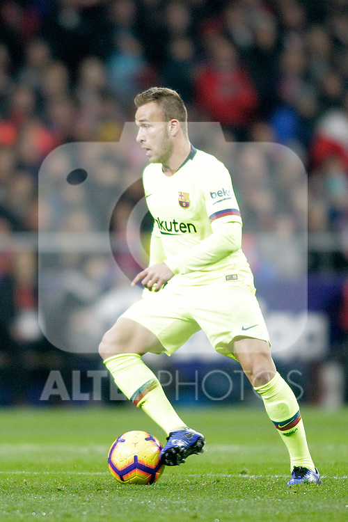 Futbol Club Barcelona's Arthur Melo  during La Liga match. November 24,2018. (ALTERPHOTOS/Alconada)