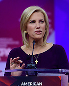 American conservative television and radio talk show host Laura Ingraham speaks at the Conservative Political Action Conference (CPAC) at the Gaylord National Resort and Convention Center in National Harbor, Maryland on Thursday, February 28, 2019.<br /> Credit: Ron Sachs / CNP