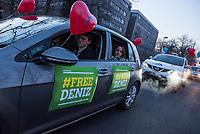 2018/02/14 Berlin | Politik | #FreeDeniz | Autokorso