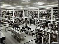 A reading room of the public library in Deventer