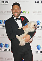 Danyl Johnson at the Battersea Dogs &amp; Cats Home Collars &amp; Coats Gala Ball 2018, Battersea Evolution, Battersea Park, London, England, UK, on Thursday 01 November 2018.<br /> CAP/CAN<br /> &copy;CAN/Capital Pictures