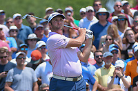 Jon Rahm (ESP) watches his tee shot on 3 during round 1 of The Players Championship, TPC Sawgrass, at Ponte Vedra, Florida, USA. 5/10/2018.<br /> Picture: Golffile | Ken Murray<br /> <br /> <br /> All photo usage must carry mandatory copyright credit (&copy; Golffile | Ken Murray)