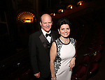 Cliff Washer and Carol Washer attend the Broadway Opening Night of Sunset Boulevard' at the Palace Theatre Theatre on February 9, 2017 in New York City.