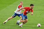 Marco Asensio  and Gerard Deulofeu during Spain training session at Santiago Bernabeu Stadium in Madrid, Spain September 01, 2017. (ALTERPHOTOS/Borja B.Hojas)
