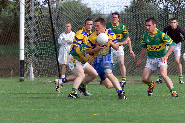 Kilkerly emmets 14 Shane Lennon durin the lampost Construction Senior Football Championship Q/Final..Photo Fran Caffrey/Newsfile.ie..This picture has been sent to you by:.Newsfile Ltd,.3 The View,.Millmount Abbey,.Drogheda,.Co Meath..Ireland..Tel: +353-41-9871240.Fax: +353-41-9871260.GSM: +353-86-2500958.ISDN: +353-41-9871010.IP: 193.120.102.198.www.newsfile.ie..email: pictures@newsfile.ie..This picture has been sent by Fran Caffrey.francaffrey@newsfile.ie