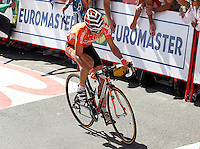 Igor Anton during the stage of La Vuelta 2012 between Vilagarcia de Arousa and Mirador de Erazo (Dumbria).August 30,2012. (ALTERPHOTOS/Acero) /NortePhoto.com<br />