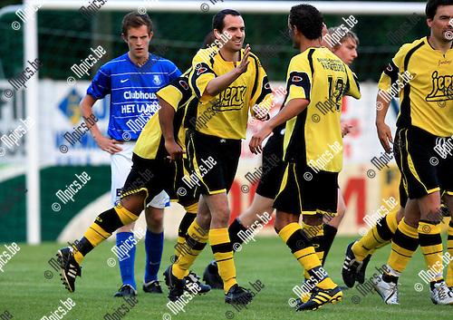 2010-06-24 / Voetbal / seizoen 2010-2011 / Lille - Vosselaar / Bram Van Geel scoorde voor Lille