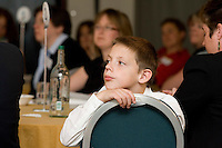 Young Delegate at a conference