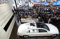 The Maybach Landaulet, which has a price tag of 14 million yuan ($2 million), was released at the Beijing Auto Show on April 20. The car show has attracted all the world's major auto markers. Vehicle production and sales both surged more than 20 percent to a record 8.8 million units in China last year. Analysts forecast that both China's auto output and sales will continue to expand at double-digit rates in 2008 to 10 million as the economy grows rapidly and the government tries to encourage people to spend money..24 Apr 2008