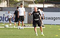 SANTOS, SP, 18.11.2015 - FUTEBOL-SANTOS - Dorival Junior do Santos durante sessão de treinamento no Centro de Treinamento Rei Pelé nesta quarta-feira, 18. (Foto: Flavio Hopp / Brazil Photo Press)