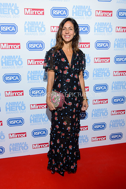 www.acepixs.com<br /> <br /> September 7 2017, London<br /> <br /> Julia Bradbury attending the Animal Hero Awards 2017 on at the Grosvenor Hotel on September 7 2017 in London<br /> <br /> By Line: Famous/ACE Pictures<br /> <br /> <br /> ACE Pictures Inc<br /> Tel: 6467670430<br /> Email: info@acepixs.com<br /> www.acepixs.com