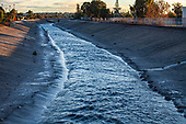 Ballona Creek, Culver City, Los Angeles, California, USA
